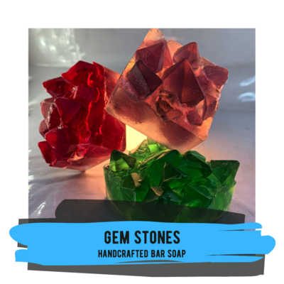 Gem Stone Soap - Available in Three Hues