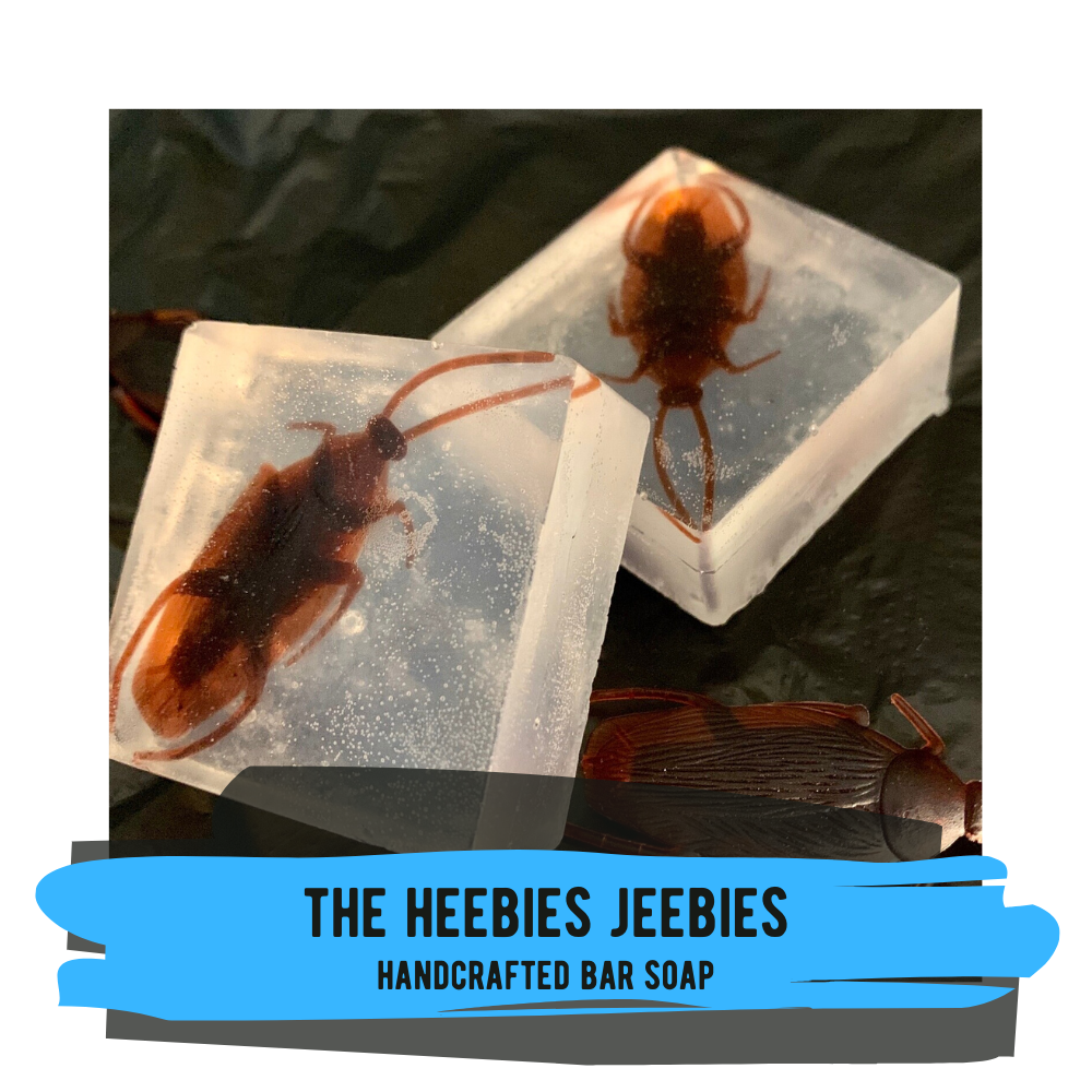 Gag Soap - The Heebies Jeebies (choose from Cockroaches, Spiders, or Ants!)
