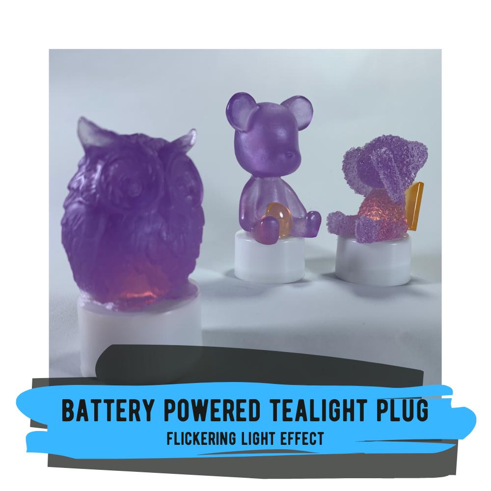 Tealight Plug - Flickering Light Effect