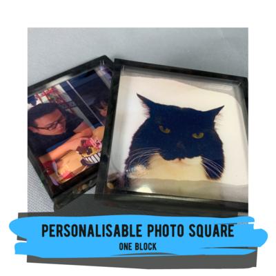 Personalisable Photo Square