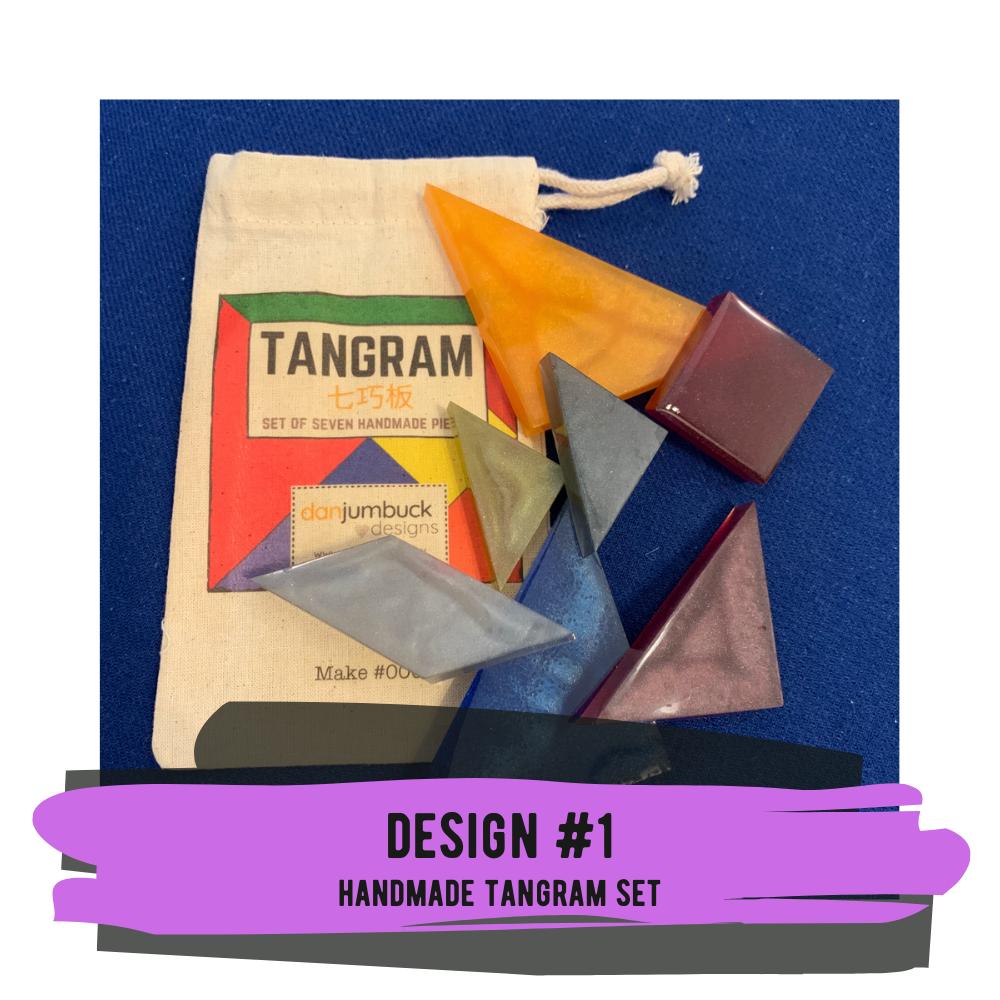 Handmade Tangram Set - #01