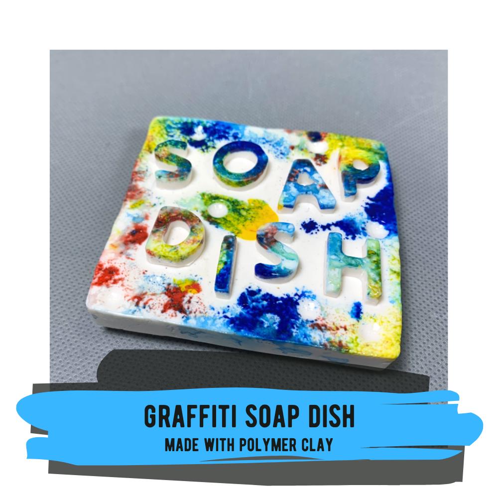 Graffiti Soap Dish