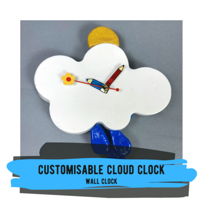 Customisable Cloud Clock
