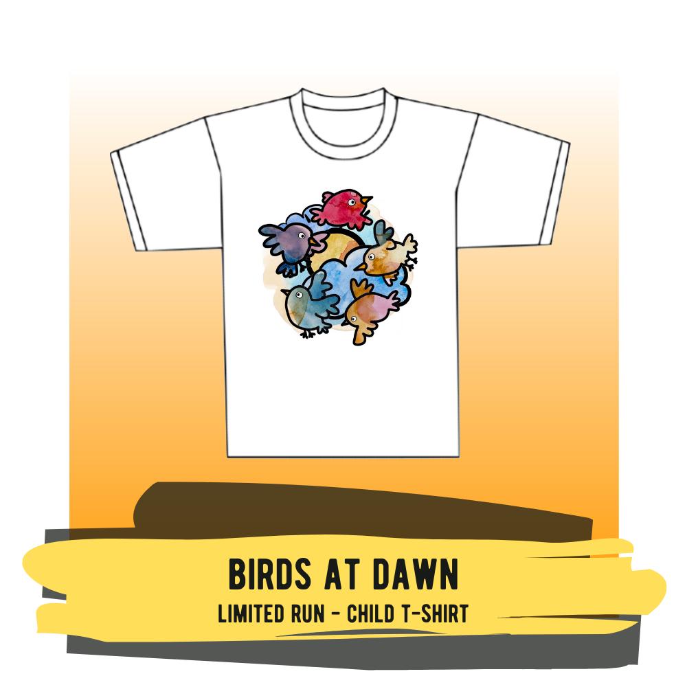 "Child T-shirt - ""Birds At Dawn"""