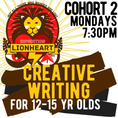 Creative Writing Programme - EXPEDITION LIONHEART COHORT 2 (Mondays)