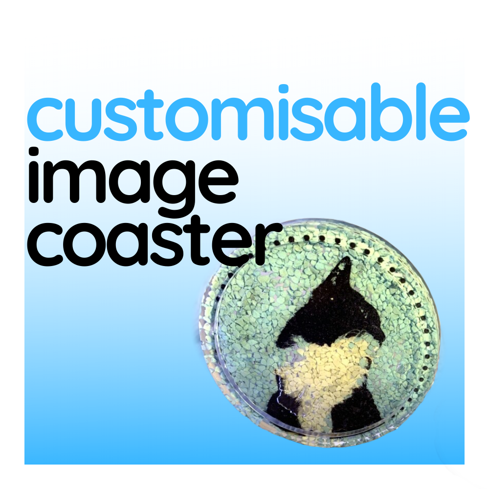 Customisable Image Coaster, sold individually