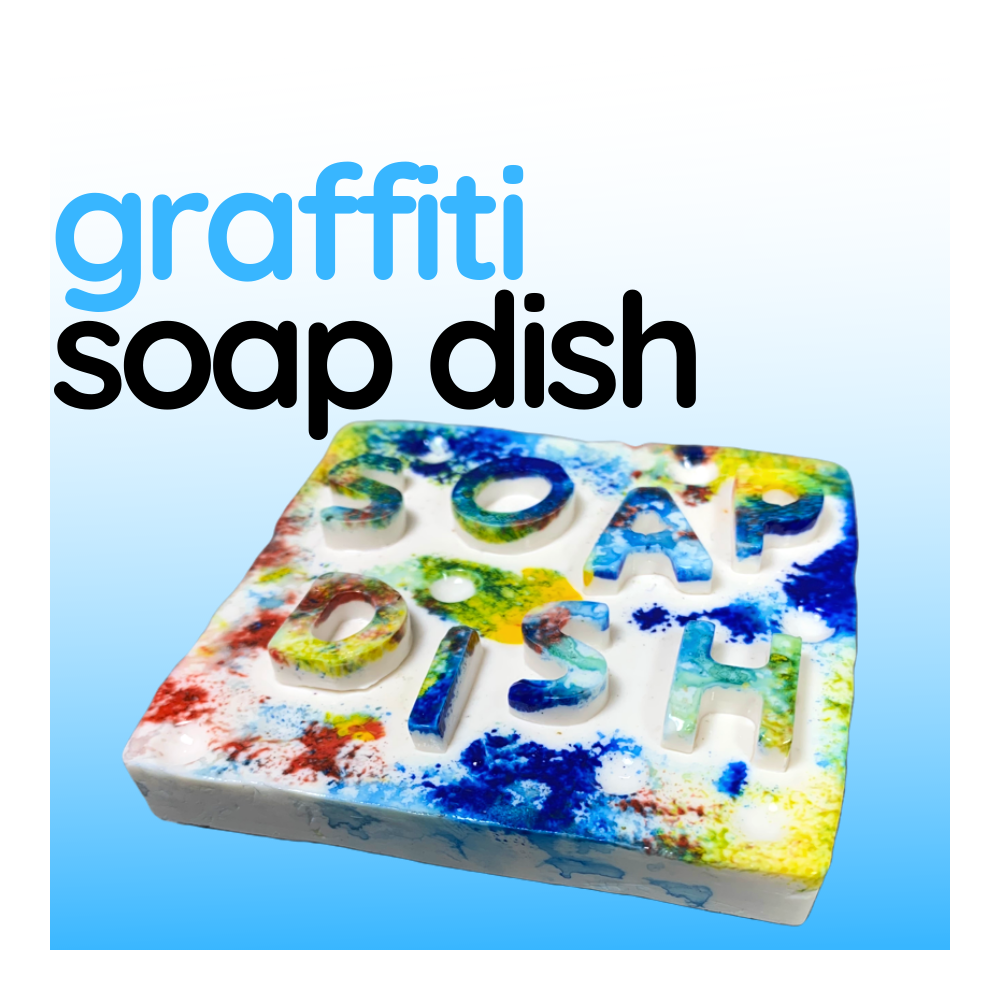 Graffiti Soap Dish