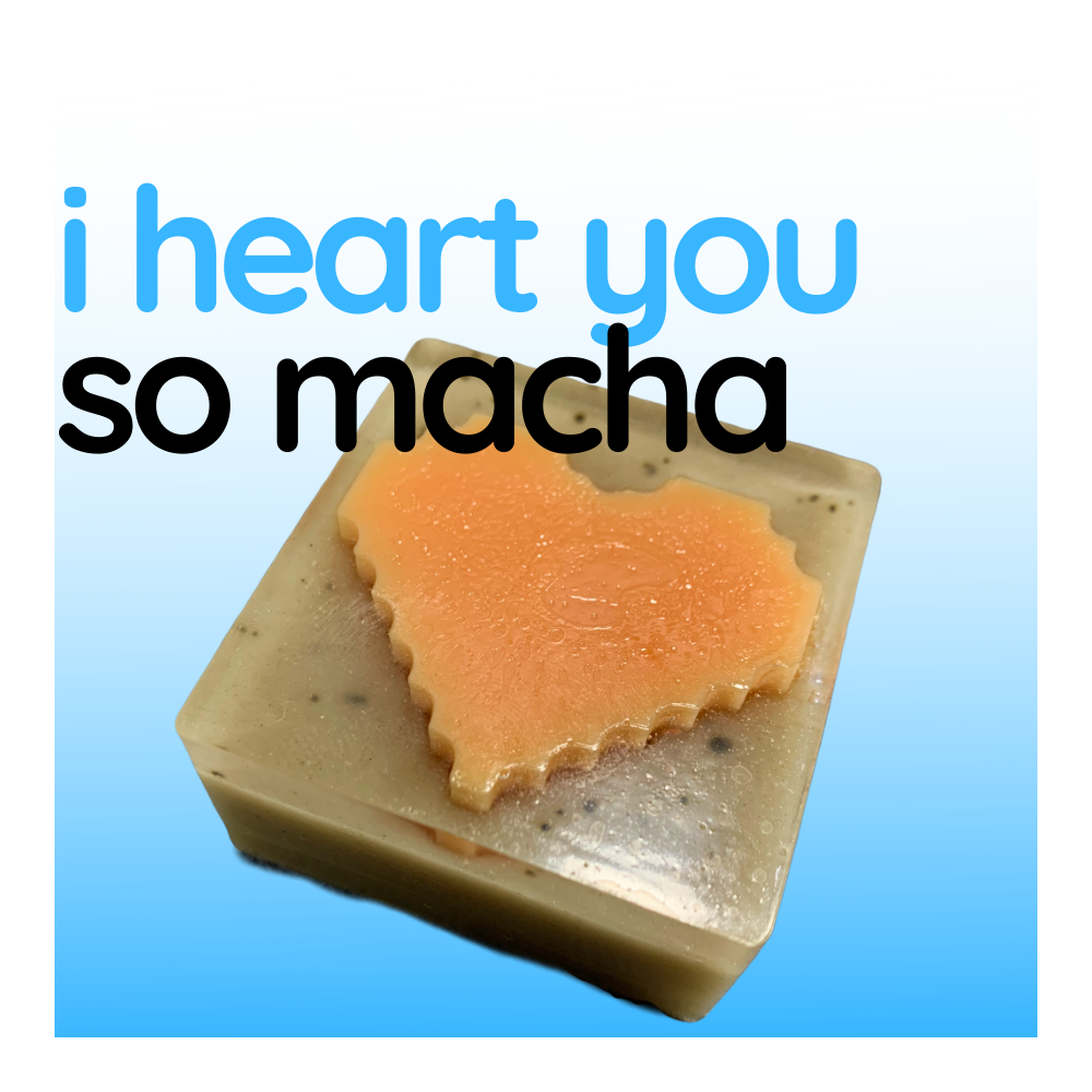 Boxed Soap - I Heart You So Matcha