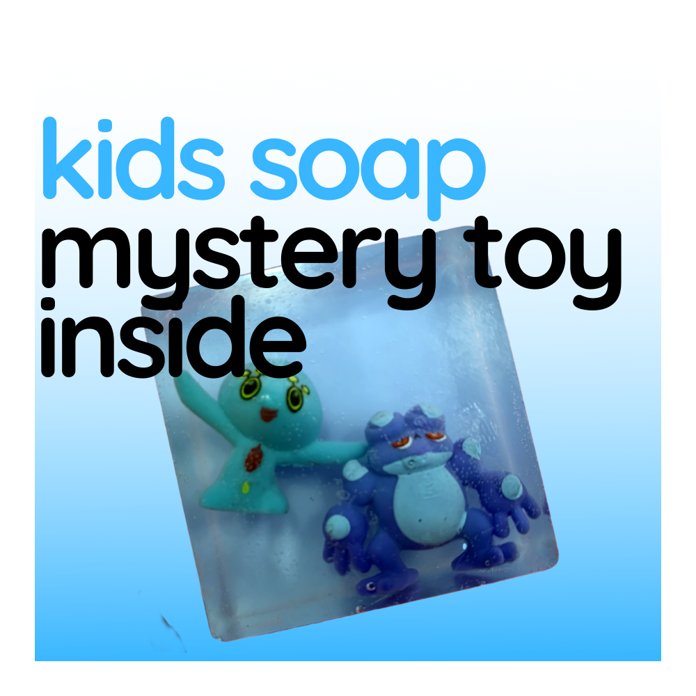 Kids Soap - Soap With Benefits (Mystery Toy Inside)