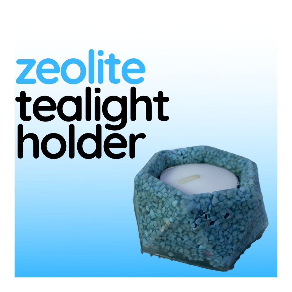 Zeolite Tealight Holder - Design #1