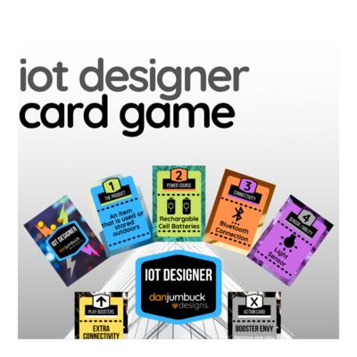 IOT Designer Card Game
