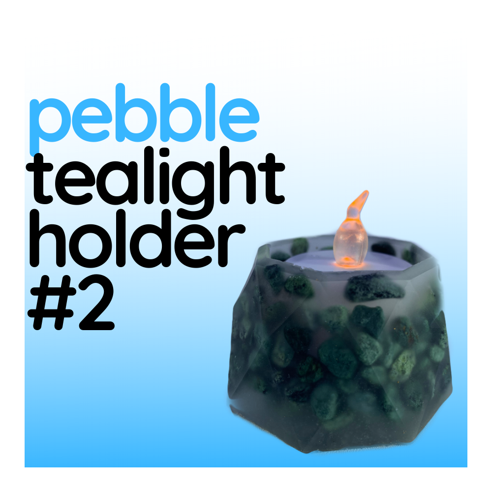 Pebble Tealight Holder - Design #02