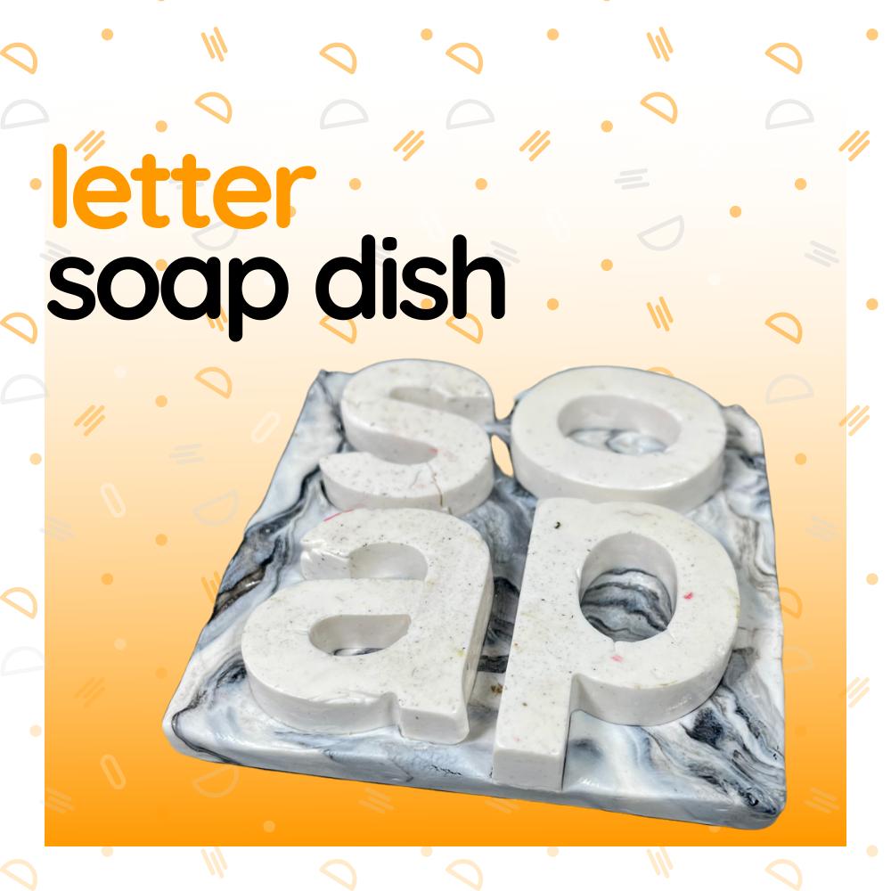Letter Soap Dish