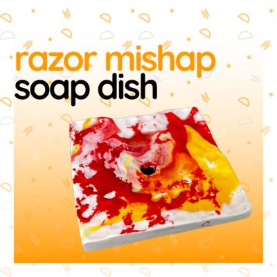 Razor Mishap Soap Dish