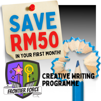 Online Creative Writing Programme - Frontier Force