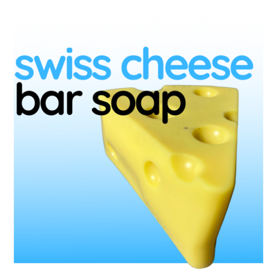 Gift Soap - Swiss Cheese Bar Soap