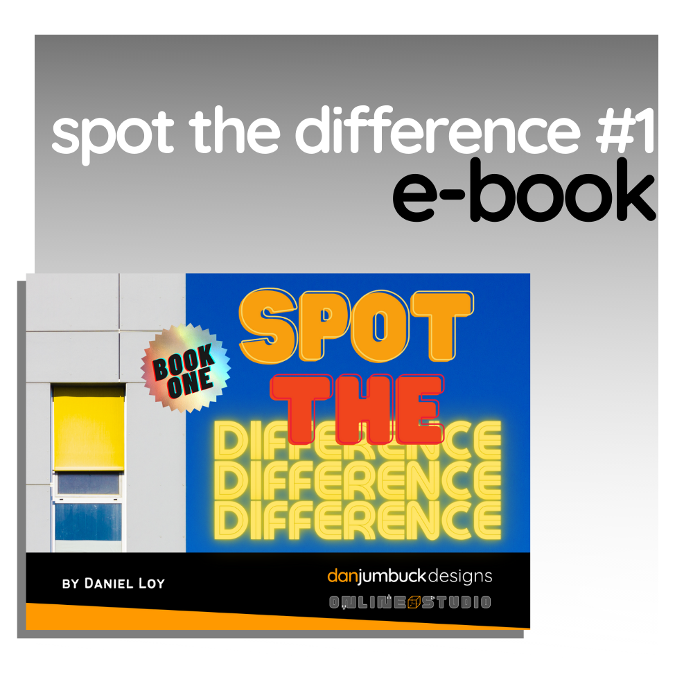 Spot the Difference - Book One