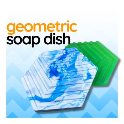 Geometric Soap Dish