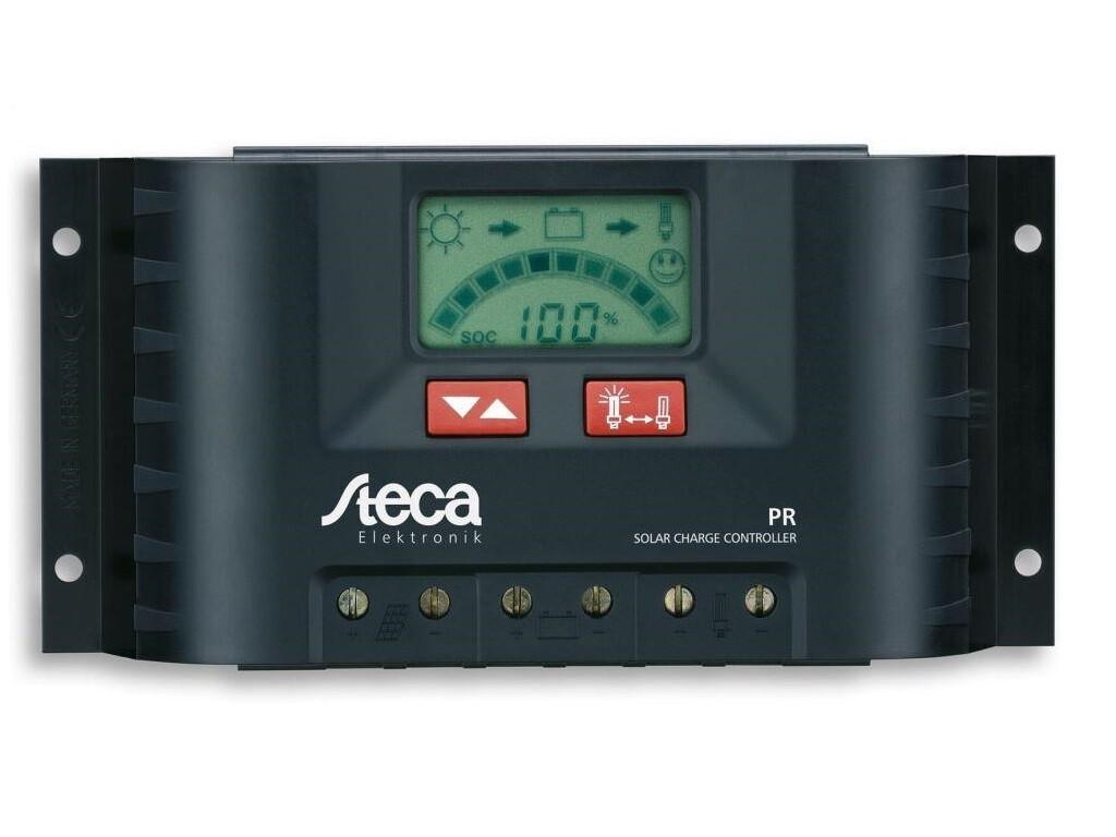 STECA Solar-Laderegler PR2020 Solar mit LCD Anzeige Solaranlage
