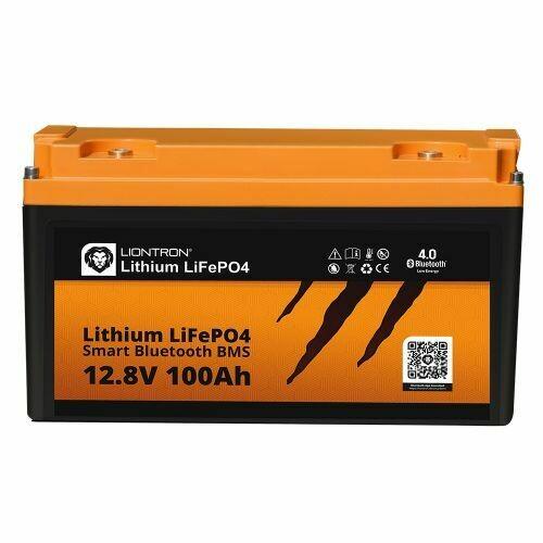 Akku LiFePO4 12,8V 100Ah Smart / Arctic BMS mit Bluetooth