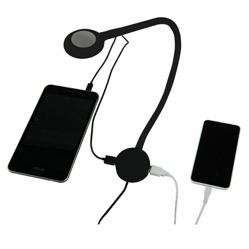 LED Wandleuchte / Leseleuchte inkl. USB Plug