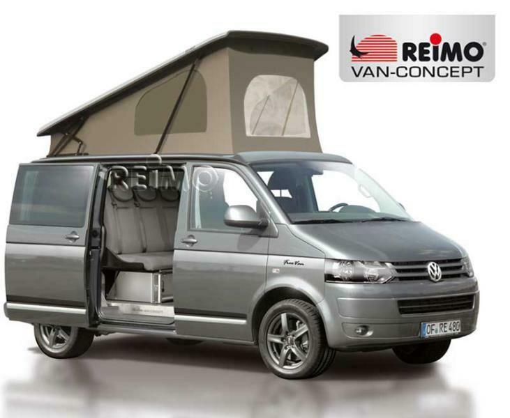 Aufstelldach Easy Fit VW T5/T6 - Klimahimmel - vorne hoch mit Gurtverschluss - kurzer Radstand INKL. MONTAGE-SERVICE