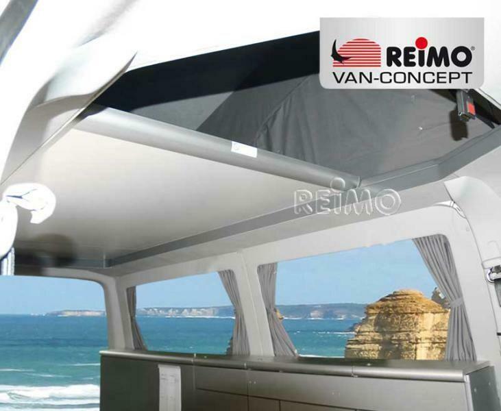 Schlafdachbett Reimo Easy Fit VW T5/T6 - Komplett mit Matratze und Bezug - kurzer Radstand