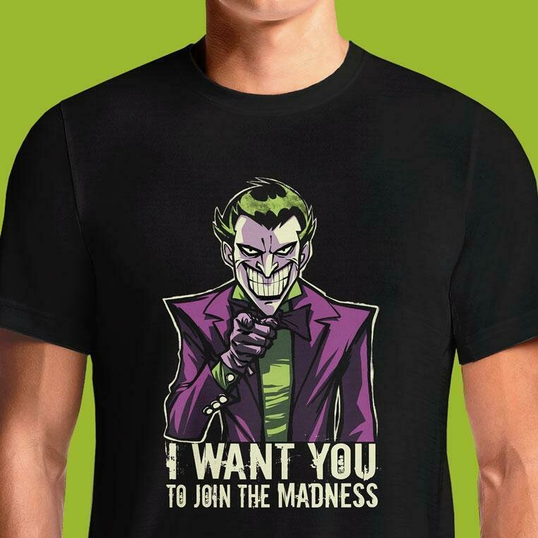 MADNESS WANTS YOU