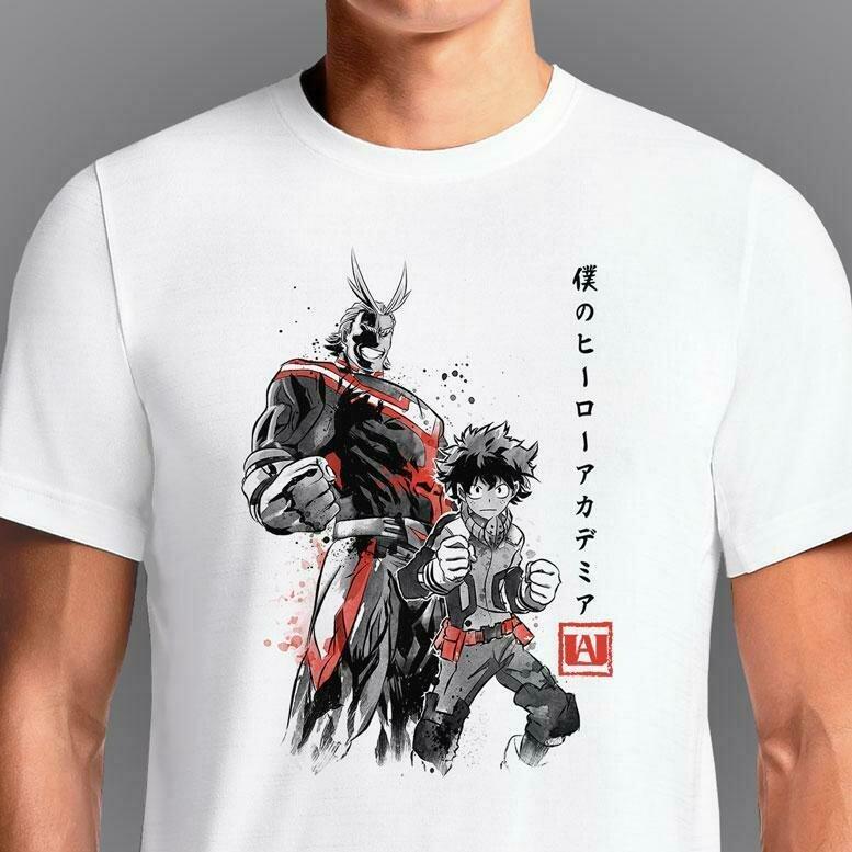 Hero Academia Sumi-E