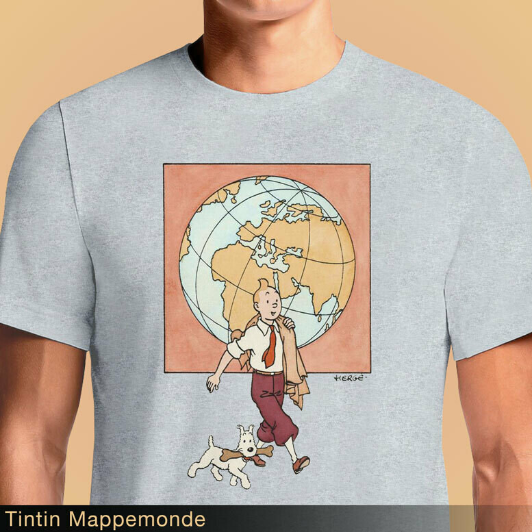 Tintin Mappemonde