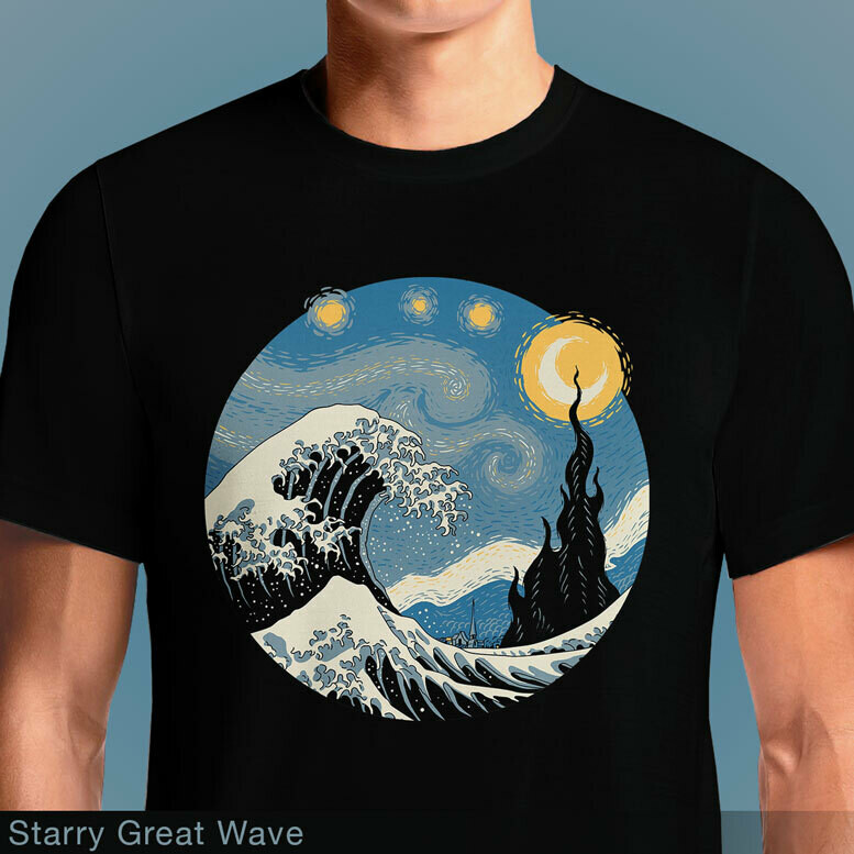 Starry Great Wave