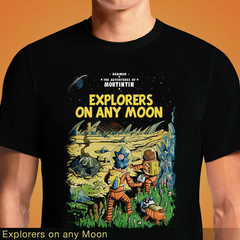 Explorers on any Moon