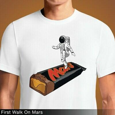 First Walk On Mars