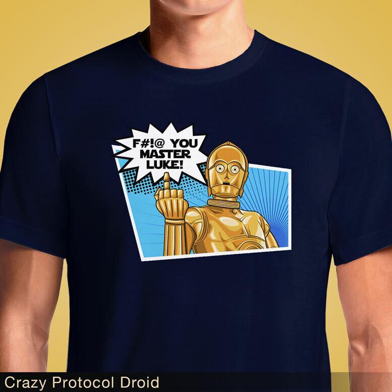 Crazy Protocol Droid
