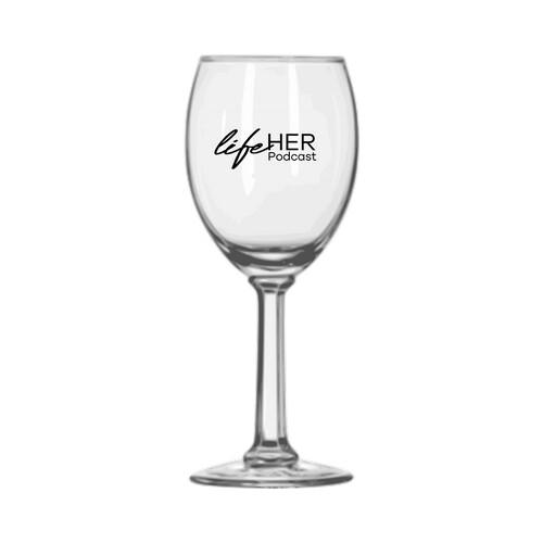 LifeHer Wine Glass