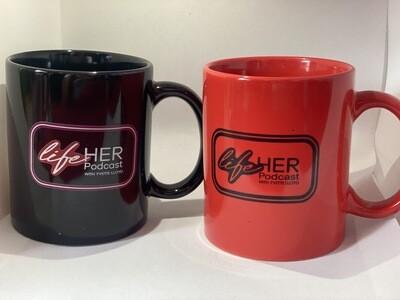 LifeHer Podcast Mug