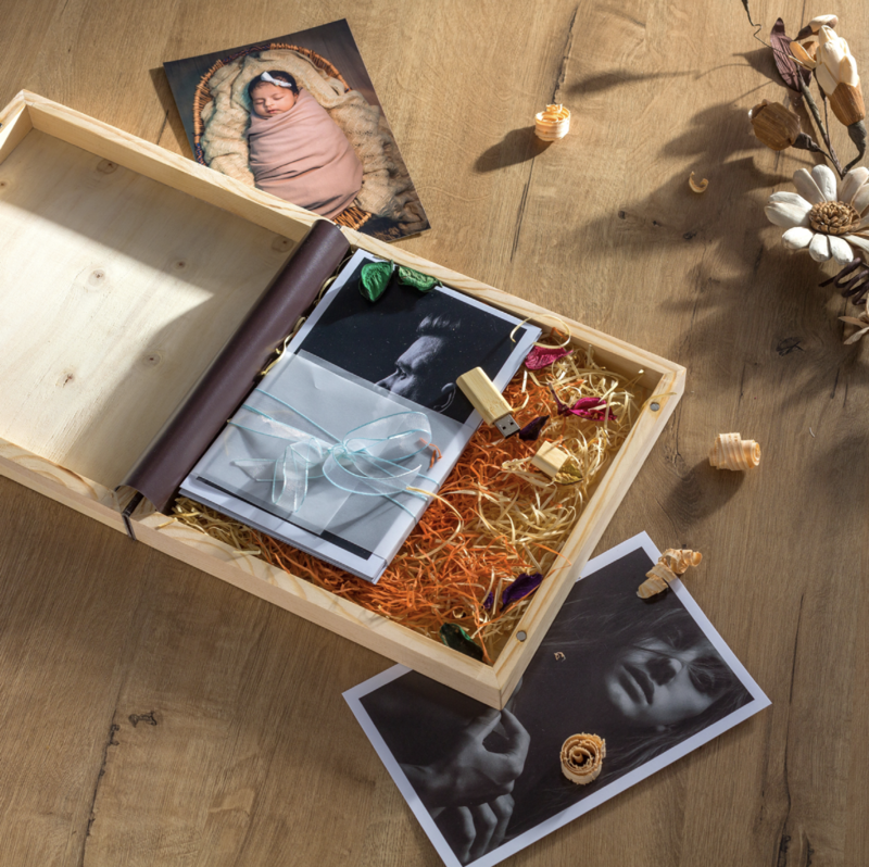 Wood Box WB25-02