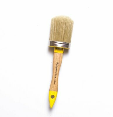 Large Oval Paint Brushes - 62mm