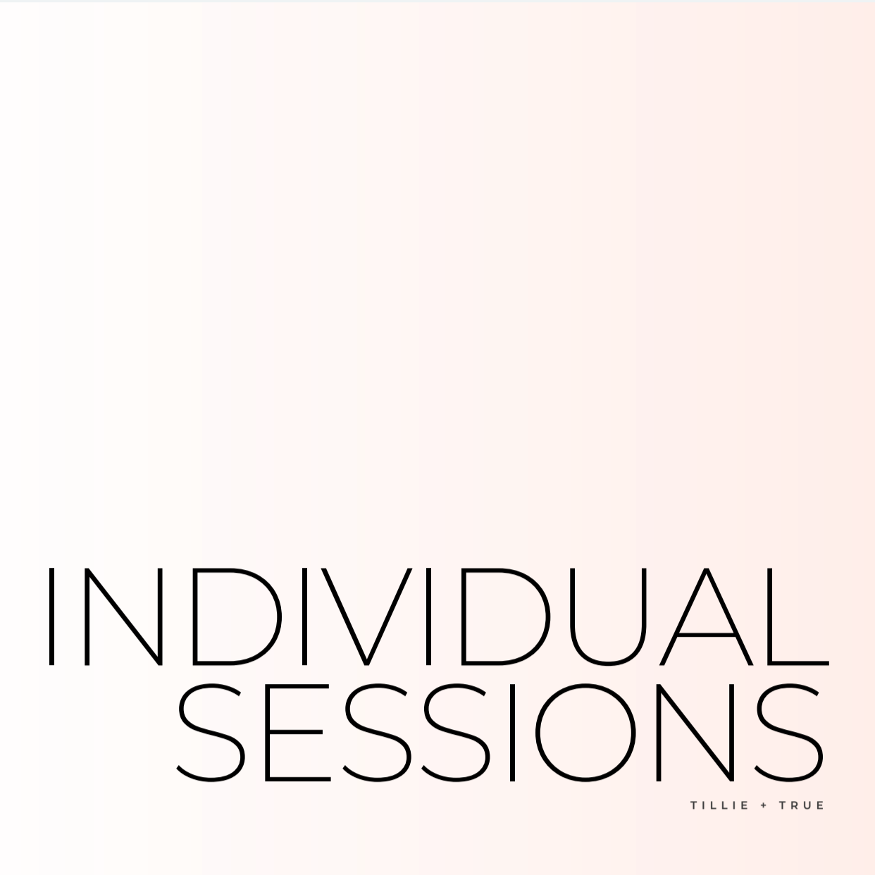 Individual Session