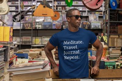 Meditate. Travel. Journal. Repeat