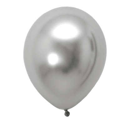 Chrome Latex Balloon with Helium