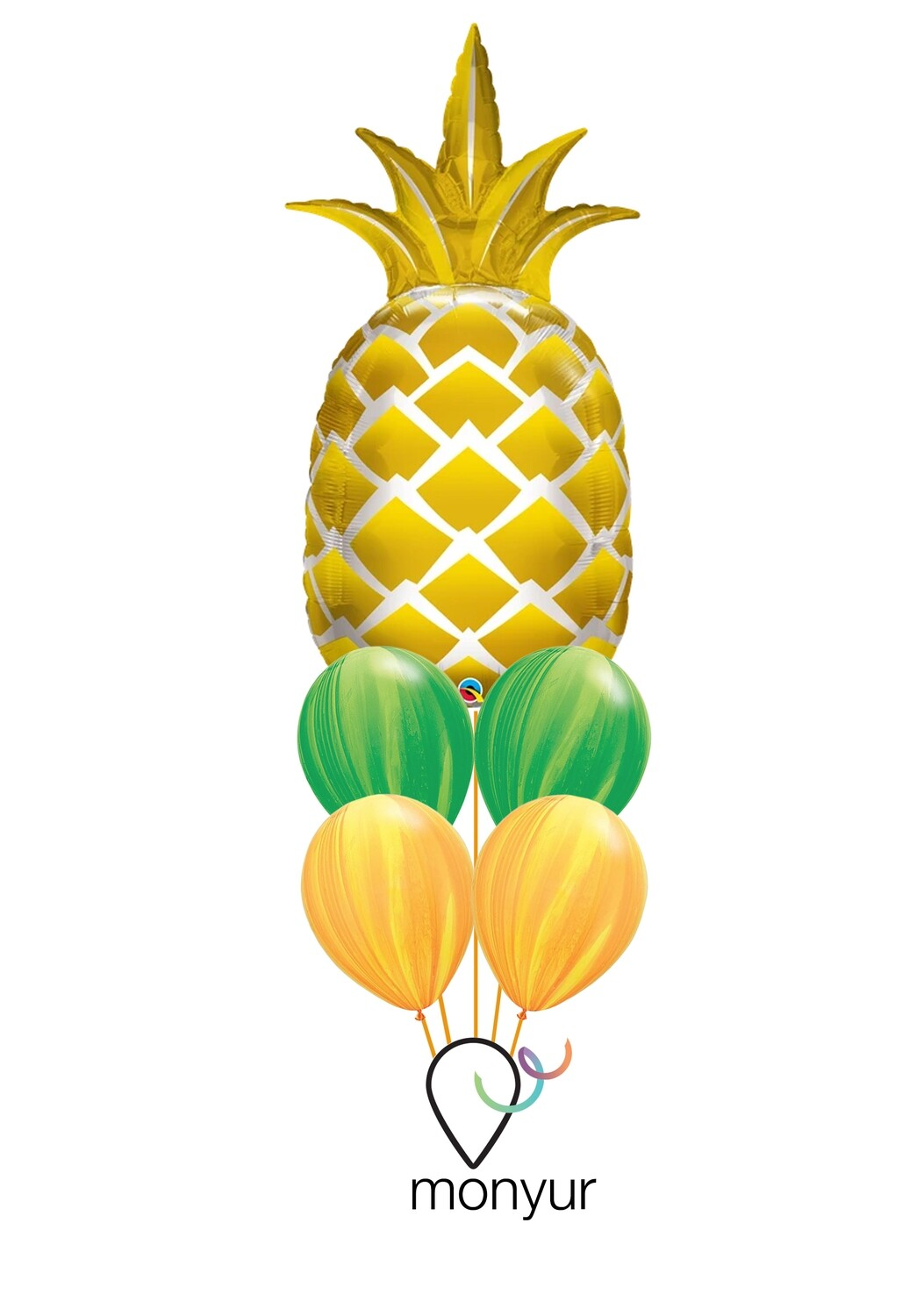Pineapple Bouquet de Globos
