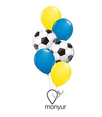 Football Soccer Balloon Bouquet