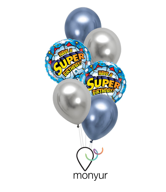 Super Birthday Bouquet de Globos