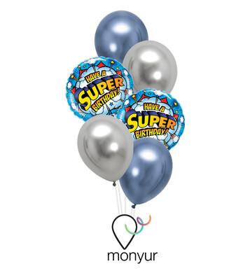 Super Birthday Balloon Bouquet