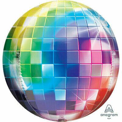 "Globo Orbz Disco 15"" con Helio"