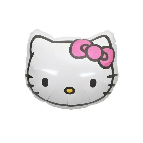 Globo Hello Kitty Face con Helio
