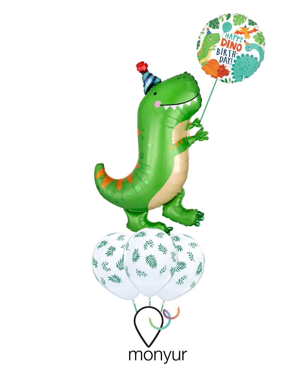Dino Party Balloon Bouquet
