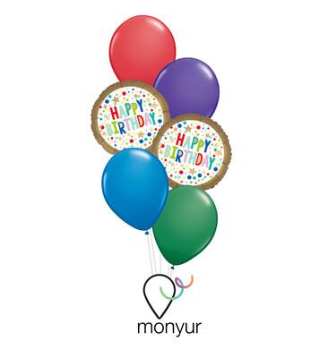 Marquee Birthday Balloon Bouquet