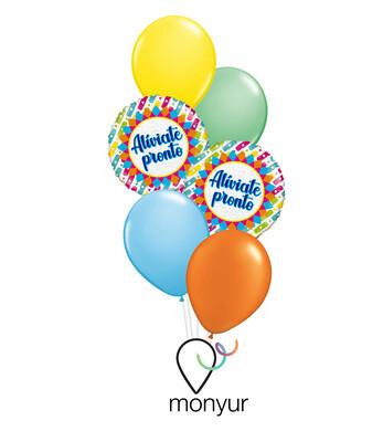 Feliz Aniversario Balloon Bouquet